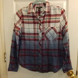 Forever 21 gradient flannel